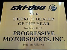 2016 Ski-Doo District Dealer of the Year Award
